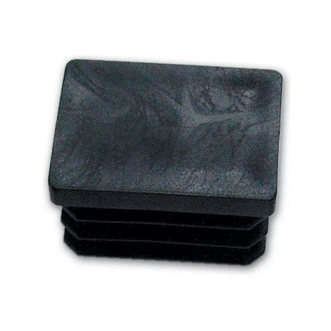 colore Nero Conf Puntale Gommino Interno Tondo misura 16 mm 100 Pz