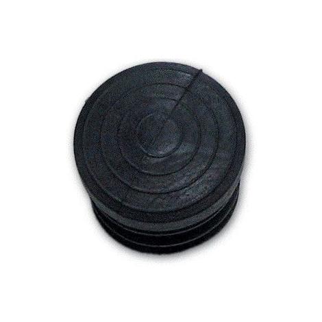 100 Pz Gommino ad Infilare Esterno Tondo misura 22 mm Nero conf
