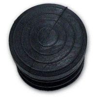 Gommino Interno Tondo misura 22 mm (Puntale) colore Nero Conf. 100 Pz