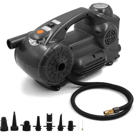 Gonflage de pneu de voiture portable de pompe a air multifonction electrique montee sur vehicule