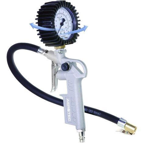 """Gonfle-pneu pneumatique Aerotec 200548 1/4"""" (6,3 mm) 10 bar Etalonnage: d'usine (sans certificat) 1 pc(s) S03325"""