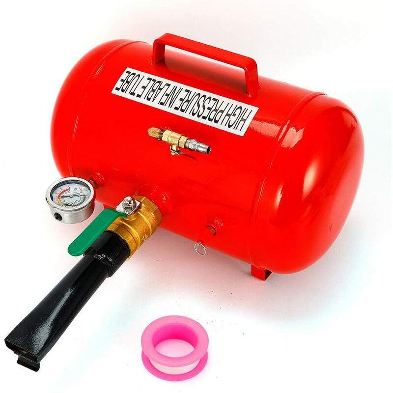 Etoile - Gonfleur de pneu 5 gallons 20 l Booster de gonflage de choc Airbooster Pompe à air comprimé en acier inoxydable