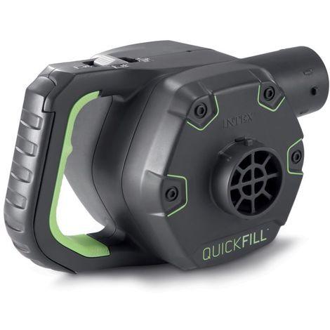 Gonfleur électrique - 220 V - Noir - Gris