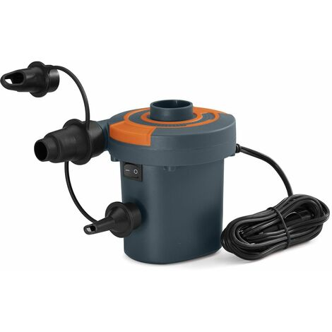 Gonfleur Pompe Électrique Bestway Véhicule 12 V 11,5x10,5x12,5 cm Adaptateurs