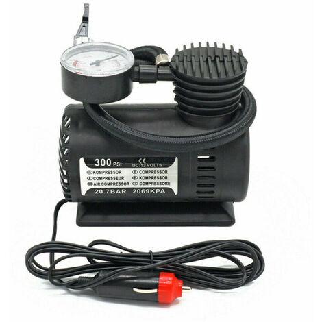 Gonfleur portatif de pneu de compresseur d'air de la pompe a air electrique de voiture 300PSI