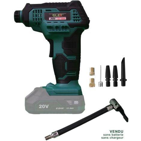 Gonfleur sans fil 20v Silex® (sans batterie et chargeur)