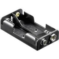 Goobay 46904 Batteriehalter 2x Mignon (AA) Druckknopfanschluss (L x B x H) 58 x 32 x 14.5mm X39712