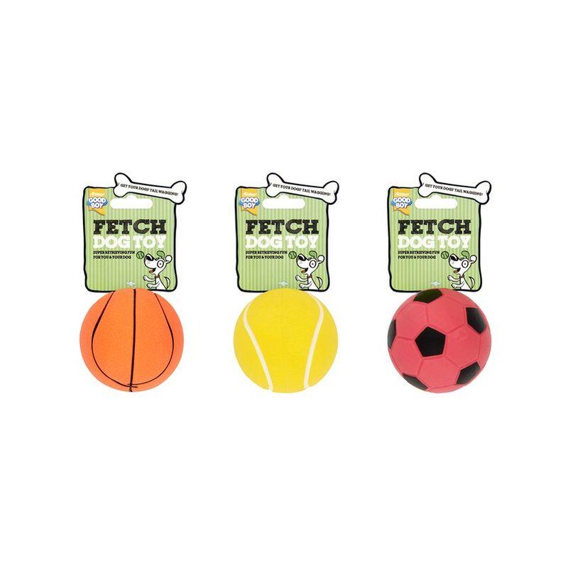 Image of Sponge Sports Ball 9cm x 6 (737787) - Good Boy