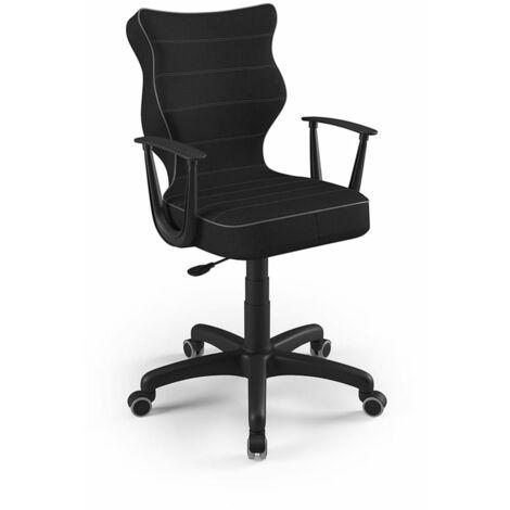Good Chair Chaise de bureau ergonomique NORM Noir BA-B-6-B-C-FC01-B