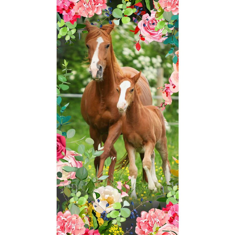 Image of Beach Towel FOAL 75x150cm Multicolour - Good Morning