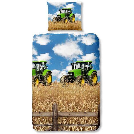 Good Morning Housse de couette 5604-A FARMER 135x200 cm Multicolore
