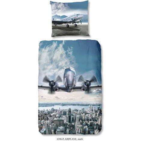 Good Morning Kids Duvet Cover Airplane 135x200 cm