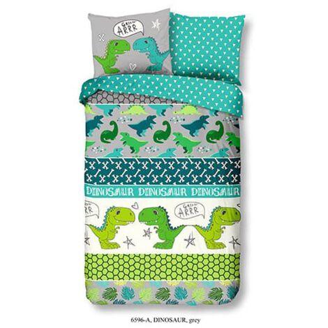 Good Morning Kids Duvet Cover Dinosaur 140x200/220 cm