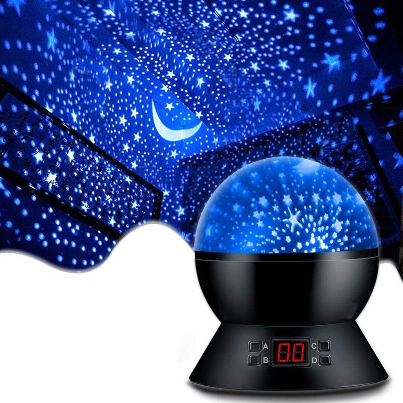 Thsinde - Goodrich Star Projector Night Lights pour enfants avec minuterie, cadeaux pour fille et garçon de 1 à 14 ans, lumières de la chambre pour