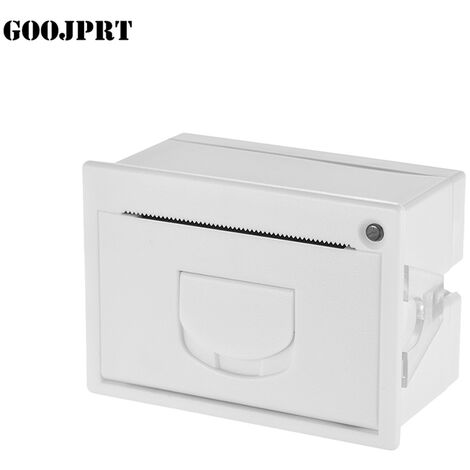 GOOJPRT, Impresora termica de recibos integrada de 58 mm, Interfaz TTL + USB