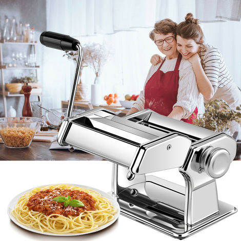 Goplus 5-in-1 Fresh Pasta Maker Machine Lasagne Ravioli Spaghetti Tagliatelle