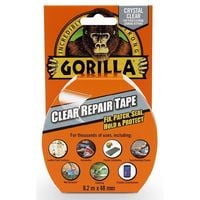 Gorilla Clear Repair Tape 8m