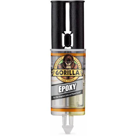 Gorilla Glue 6044001 2-Part Epoxy Syringe 25ml 5 Min