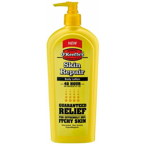 Gorilla Glue GRGOKSR325ML OKeeffes Skin Repair Body Lotion 325ml Pump