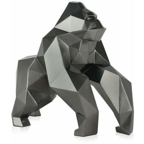 Gorille à facettes cm H44xL24xS49cm Artedalmondo D4944EA