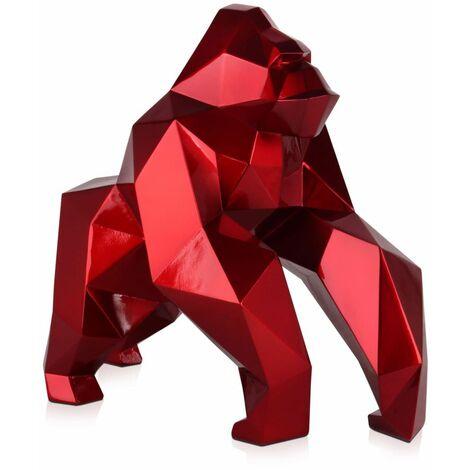 Gorille à facettes cm H44xL24xS49cm Artedalmondo D4944ER