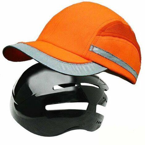 Gorra antigolpes / rasguños Alta Visibilidad BC02 - EN812 - A1