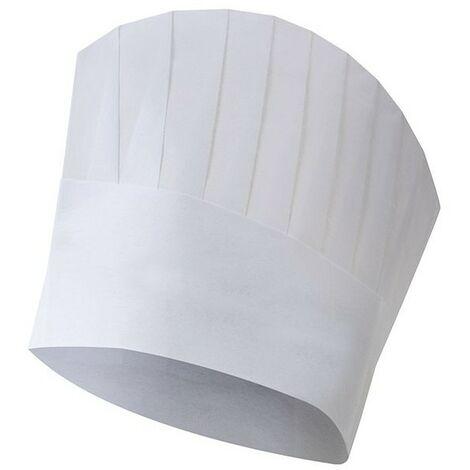 Gorro de cocina desechable Blanco U