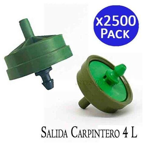 Gotero Netafim 8 l/h autocompensante salida carpintero. 2500 unidades