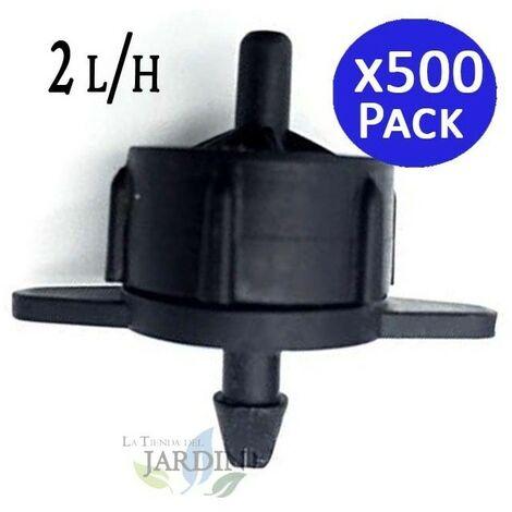 Gotero turbulento desmontable 2 l/h. 500 unidades
