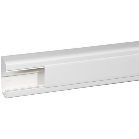 Goulotte 1 compartiment 50x105mm DLP monobloc blanc (010424)