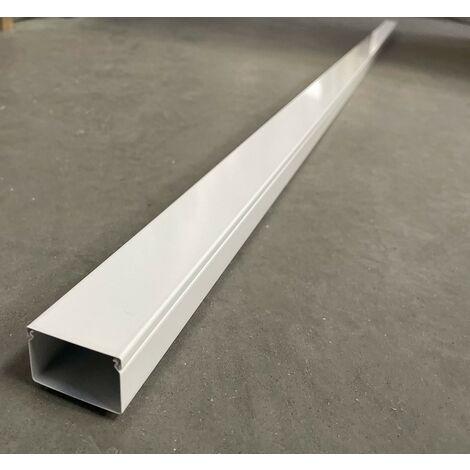 Goulotte 30045 en Acier Blanc Paloma (au mètre) HAGER LFS3004509010