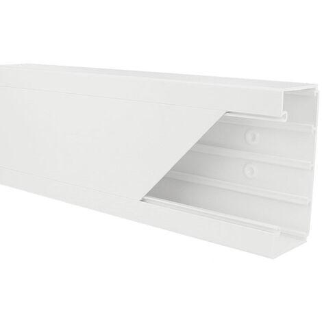 Goulotte appareillable PVC 110 x 50 mm