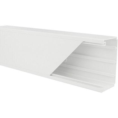 Goulotte appareillable PVC 90 x 50 mm