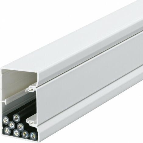 Goulotte appareillable queraz enclipsage direct 85x56mm PVC blanc (GBD5008509010)
