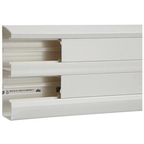 Goulotte appareillable queraz enclipsage direct h 175 x p 56mm L200mm PVC blanc (GBD5016009010)