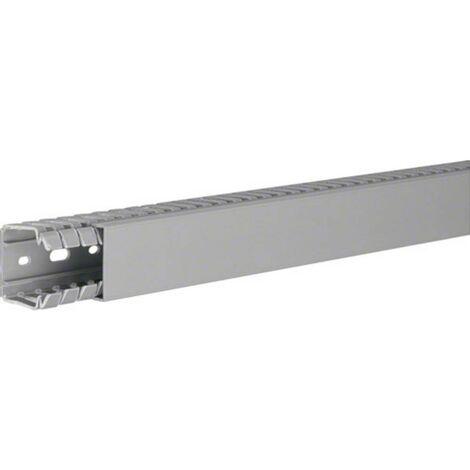 Goulotte de câblage Hager BA740040 (L x l x h) 2000 x 40 x 40 mm 1 pc(s) gris roche