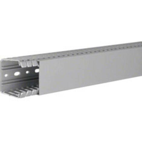 Goulotte de câblage Hager BA760060 (L x l x h) 2000 x 60 x 60 mm 1 pc(s) gris roche