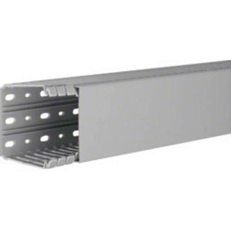 Goulotte de câblage Hager BA780080 (L x l x h) 2000 x 80 x 80 mm 1 pc(s) gris roche