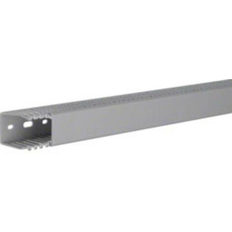 Goulotte de câblage Hager LKG5003707030B (L x l x h) 2000 x 35 x 50 mm 1 pc(s) gris roche