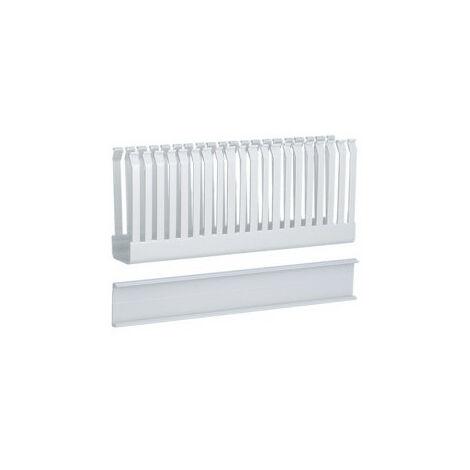 Goulotte de câblage horizontale quadro4-quadro5-quadro+acces 30x80 longueur 250 (UC911)