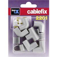 Goulotte de câble cablefix 3210_grau jonction 10 pc(s) gris