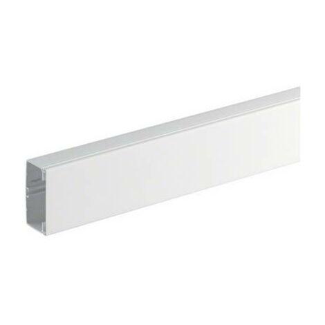 Goulotte de câble Hager FB6011009010 FB6011009010 gaine technique pour installations électriques (L x l x h) 2000 x 110 x 61 mm 1 pc(s) blanc pur (RAL 9010)