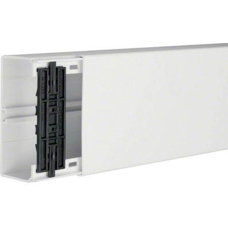Goulotte de câble Hager FB6013009010 gaine technique pour installations électriques (L x l x h) 2000 x 130 x 61 mm 1 pc