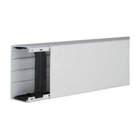 Goulotte de câble Hager LF6011007035 gaine technique pour installations électriques (L x l x h) 2000 x 110 x 60 mm 1 pc(s) gris clair (RAL 7035)