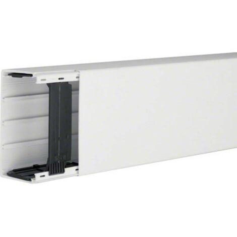 Goulotte de câble Hager LF6011009010 gaine technique pour installations électriques (L x l x h) 2000 x 110 x 60 mm 1 pc(s) blanc pur (RAL 9010)