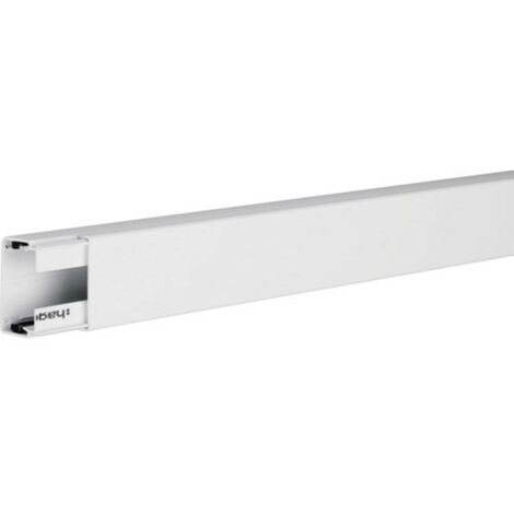 Goulotte de câble Hager LFH3004509010 LFH3004509010 gaine technique pour installations électriques (L x l x h) 2000 x 45 x 30 mm 1 pc(s) blanc pur (RAL 9010)