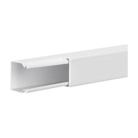 Goulotte de câble Hager LFS2002009010 gaine technique pour installations électriques (L x l x h) 2000 x 19 x 18 mm 1 pc