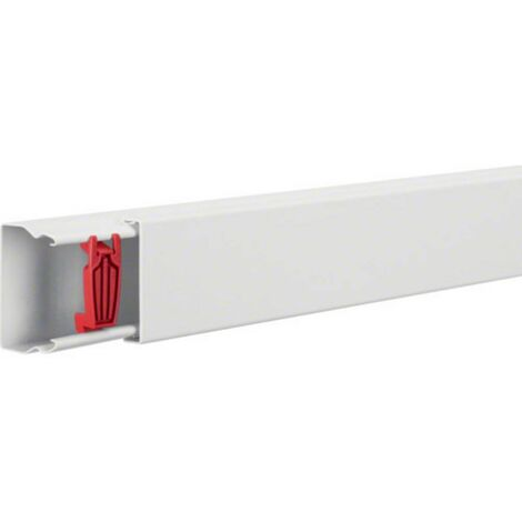 Goulotte de câble Hager LFS4006009010 gaine technique pour installations électriques (L x l x h) 2000 x 60 x 40 mm 1 pc