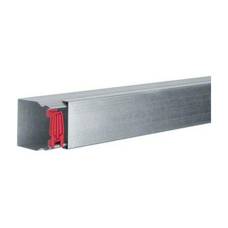 Goulotte de câble Hager LFS600600VERZ gaine technique pour installations électriques (L x l x h) 2000 x 60 x 60 mm 1 pc