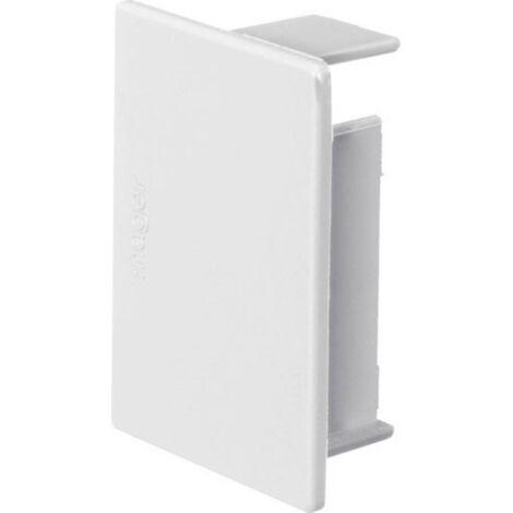 Goulotte de câble Hager M54039010 M54039010 embout (l x h) 57 mm x 40 mm 1 pc(s) blanc pur (RAL 9010)